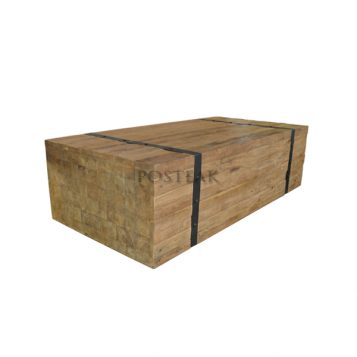 Coffee Table Box Recycled Teak