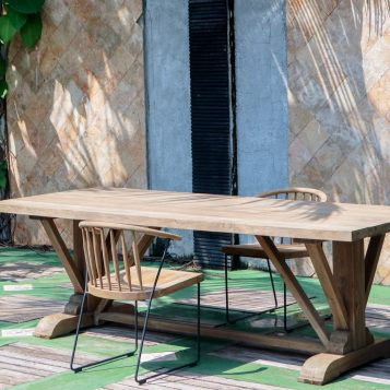 outdoor solid teak furniture