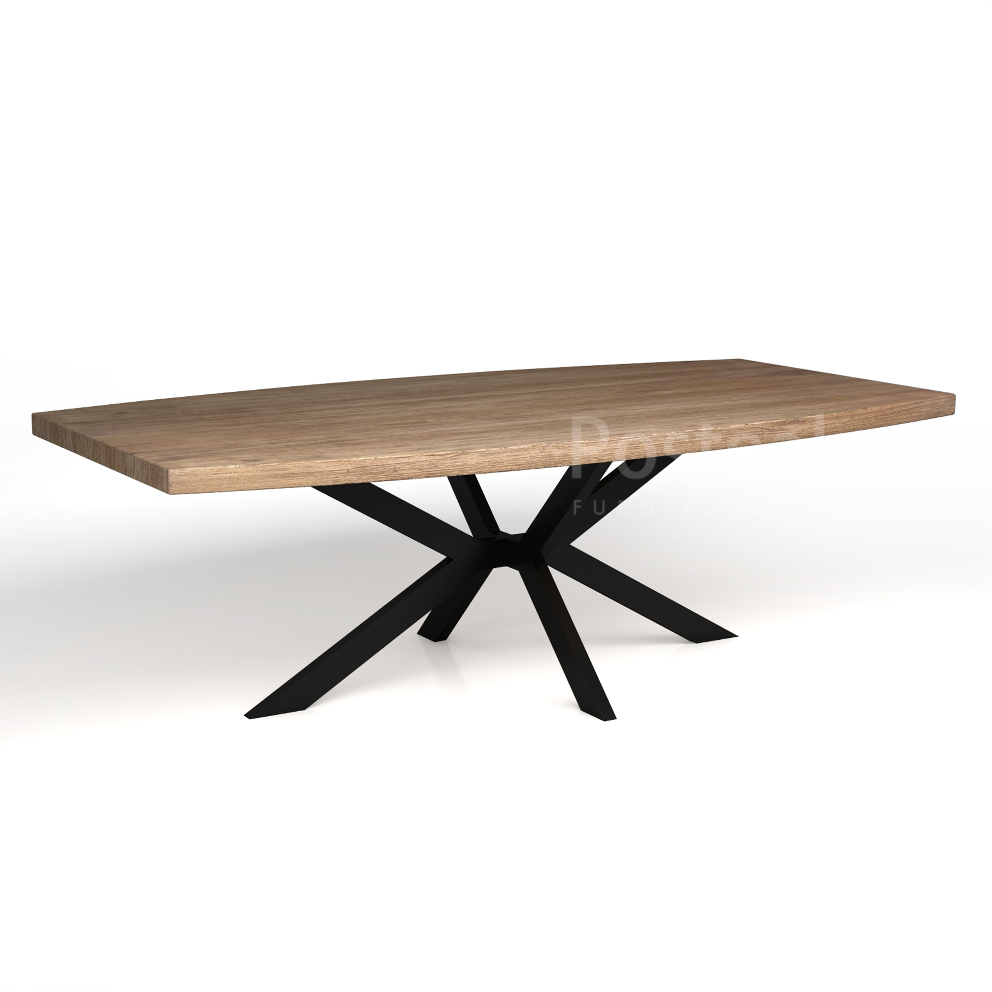 Prime Modern Dining Table Iron Cross Legs Posteak Furniture Squirreltailoven Fun Painted Chair Ideas Images Squirreltailovenorg