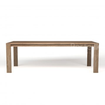 dining table T-DT102 Front View