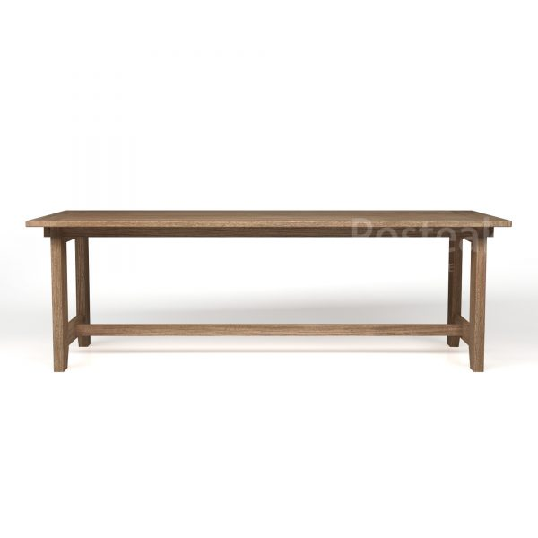 dining table T-DT105 Front View