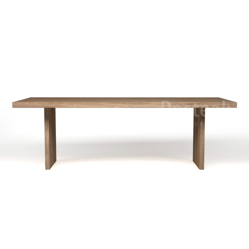 dining table T-DT48 Front View