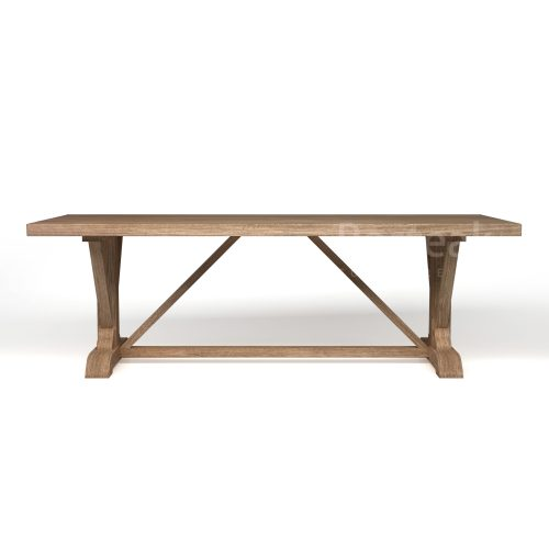 dining table T-DT49 Front View