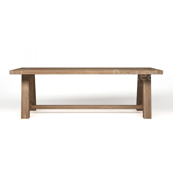 dining table T-DT59 Front View