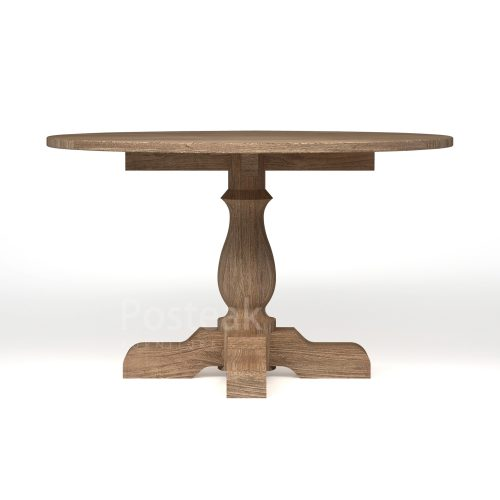 dining table T-DT65 Front View