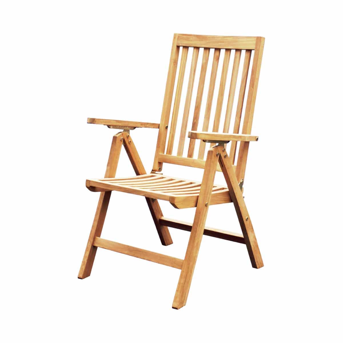Srm Furnitures: Teak Garden Folding Chair - GCH07