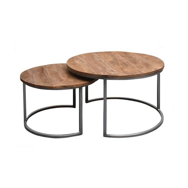 industrial coffe table ICT 01