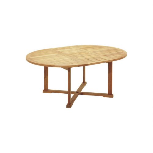 garden dining table oval