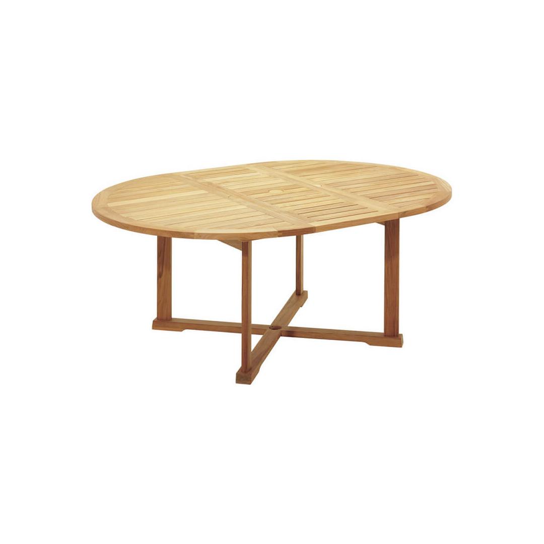 Teak Extendable Coffee Table: Teak Garden Extendable Dining Table - GDT06