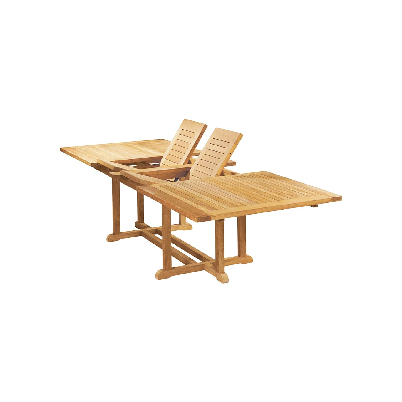 Teak Extendable Outdoor Dining Table
